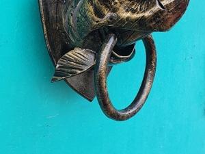 Акула -дверной молоток (ковка). Ярмарка Мастеров - ручная работа, handmade.