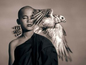 A Heart Beating together with a Goddess. Awesome Photos by Gregory Colbert. Livemaster - handmade
