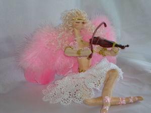 Мои куклы-скрипачки. Ярмарка Мастеров - ручная работа, handmade.