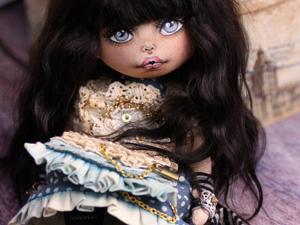 Новенькая девочка. Коллекционная текстильная кукла. Ярмарка Мастеров - ручная работа, handmade.