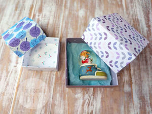Let's Fold a Paper Box for Gifts in a Couple of Minutes. Livemaster - handmade