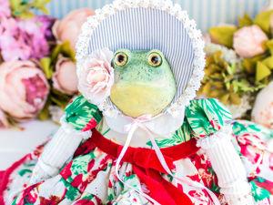 Марго жаба лягушка. Ярмарка Мастеров - ручная работа, handmade.