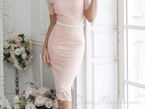 Аукцион на Очаровательное кружевное платье! Старт 2500 руб.!. Ярмарка Мастеров - ручная работа, handmade.