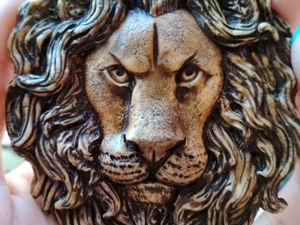 Лев, Лёвушка — умная головушка. Ярмарка Мастеров - ручная работа, handmade.