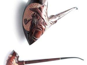 Новинка!!! Курительная трубка  «Gandalf». Ярмарка Мастеров - ручная работа, handmade.