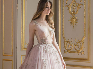 Hymn of Tenderness: Paolo Sebastian 2017-18 AW Couture. Livemaster - handmade