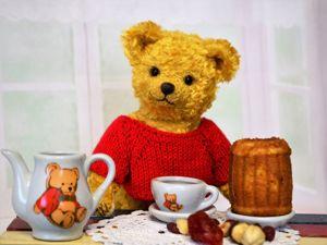 Чаепитие с Винни-Пухом. Ярмарка Мастеров - ручная работа, handmade.