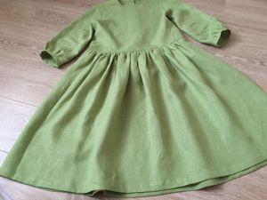 Новинка льняного платья в магазине одежды. Ярмарка Мастеров - ручная работа, handmade.