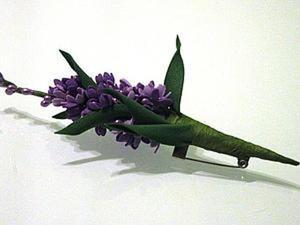 """Изготовление броши """"Весенней"""" из фоамирана. Ярмарка Мастеров - ручная работа, handmade."""