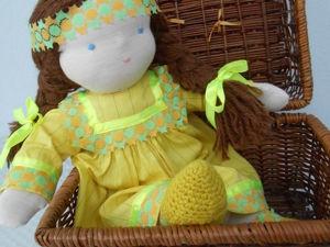 Распродажа вальдорфских кукол! от 1700 руб!. Ярмарка Мастеров - ручная работа, handmade.