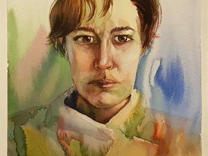 Новый портрет. Ярмарка Мастеров - ручная работа, handmade.