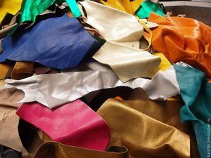 Лоскут цветной, одежный, т. 0,6-0.8 мм. Ярмарка Мастеров - ручная работа, handmade.