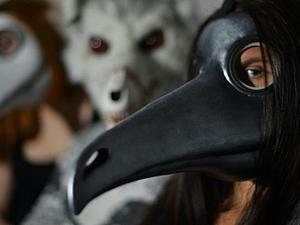 Делаем маску «Чумной Доктор». Ярмарка Мастеров - ручная работа, handmade.