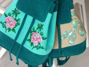 Веселые рюкзачки. Ярмарка Мастеров - ручная работа, handmade.