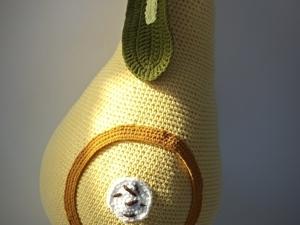 Мастерим большую вязаную грушу. Ярмарка Мастеров - ручная работа, handmade.