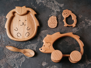 Дубовые игрушки. Ярмарка Мастеров - ручная работа, handmade.