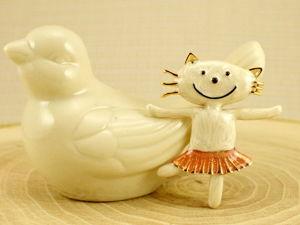 Винтажные украшения с чудными котиками! Часть 4. Ярмарка Мастеров - ручная работа, handmade.
