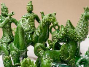 История создания сувенира «Перовская мурава». Ярмарка Мастеров - ручная работа, handmade.