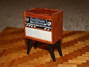 """Создаем винтажный радиоприемник """"Ригонда 102"""". Ярмарка Мастеров - ручная работа, handmade."""