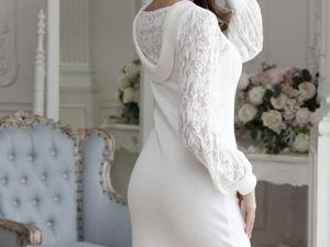 Видео-ролик, платье  «Белая аллея». Ярмарка Мастеров - ручная работа, handmade.