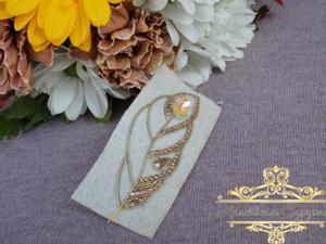 Создание новой броши Золотое перо. Ярмарка Мастеров - ручная работа, handmade.
