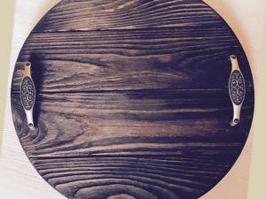 Идеи ручек для подносов. Ярмарка Мастеров - ручная работа, handmade.