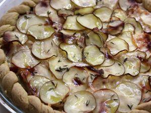 Итальянский пирог с картофелем, беконом и сыром. Ярмарка Мастеров - ручная работа, handmade.