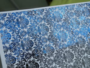 How to Make Imitation of Brocade for Decoupage. Livemaster - handmade