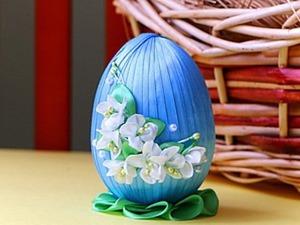 """Видео мастер-класс: создаем сувенир  """"Пасхальное яйцо"""". Ярмарка Мастеров - ручная работа, handmade."""