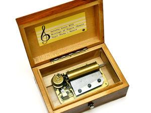 1950-1970гг Швейцарская Музыкальная Шкатулка Моцарт. Женитьба Фигаро, Волшебная Флейта, Гавот Луи 13. Ярмарка Мастеров - ручная работа, handmade.