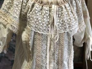 Блуза или костюм Одетта cream. Ярмарка Мастеров - ручная работа, handmade.