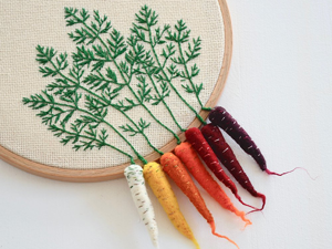 Garden in a Hoop: Voluminous Veggies by Veselka Bulkan. Livemaster - handmade