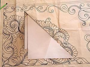Изменение дизайна орнамента для стежки. Ярмарка Мастеров - ручная работа, handmade.