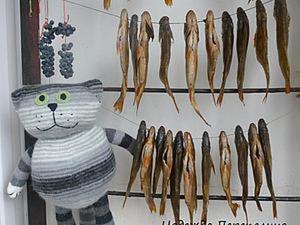 Вяжем довольного жизнью кота Василия. Ярмарка Мастеров - ручная работа, handmade.