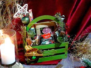 Упаковка подарков: оригинальное оформление подарков на Новый год. Ярмарка Мастеров - ручная работа, handmade.