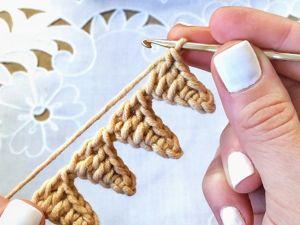 Красивый край крючком. Ярмарка Мастеров - ручная работа, handmade.