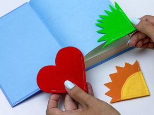 Закладка для книги своими руками!. Ярмарка Мастеров - ручная работа, handmade.