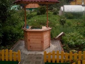 Изготавливаем декоративный колодец для дачи. Ярмарка Мастеров - ручная работа, handmade.
