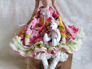 Шьем тильду в пышном платье. Часть 2. Ярмарка Мастеров - ручная работа, handmade.