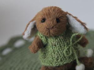 Новый зайчик в моем магазине!. Ярмарка Мастеров - ручная работа, handmade.