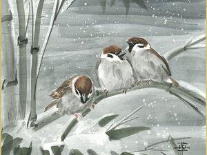Снег, змёрзлики и внутренний голос. Ярмарка Мастеров - ручная работа, handmade.