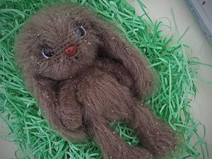 Мастер-класс по вязанию зайца. Ярмарка Мастеров - ручная работа, handmade.