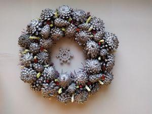 Расширение ассортимента: новогодние венки. Ярмарка Мастеров - ручная работа, handmade.