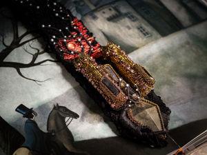 Галстук  «Носферату» , продолжение коллекции. Ярмарка Мастеров - ручная работа, handmade.