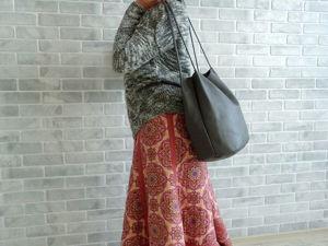 66a6f8ad197 Шьем эффектное пляжное платье для девочки – Ярмарка Мастеров