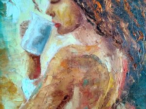 Новое  утро-Новая картина!. Ярмарка Мастеров - ручная работа, handmade.
