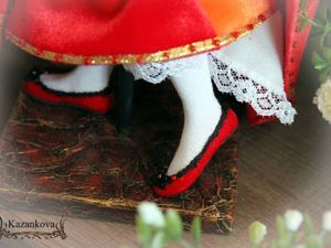 Декорируем подставку для куклы. Вариант 1. Ярмарка Мастеров - ручная работа, handmade.