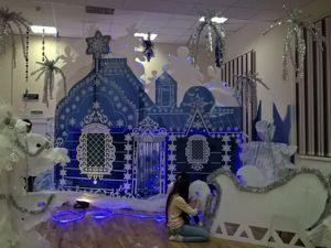 Как создать сказочную резиденцию Дедушки Мороза. Ярмарка Мастеров - ручная работа, handmade.