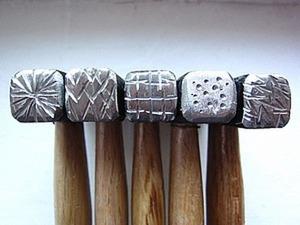 Как сделать текстурный молоток своими руками. Ярмарка Мастеров - ручная работа, handmade.