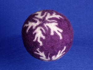 Мастер-класс: как свалять интересные шарики для праздника. Ярмарка Мастеров - ручная работа, handmade.